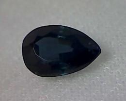 2.65ct Pear Shape Midnight Blue Parti Sapphire, VVS PA02