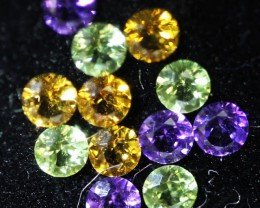 1.15 CTS  3 MM MIXED JEWELERS PARCEL - FUN AND CREATIVE [ST9616]