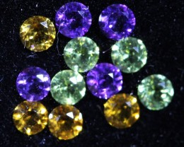 1.15 CTS  3 MM MIXED JEWELERS PARCEL - FUN AND CREATIVE [ST9622]