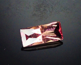 1.68ct Nice Pink Tourmaline with scissor cut