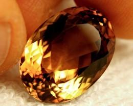 19.31 Carat IF/VVS1 Golden Brown Topaz - Superb