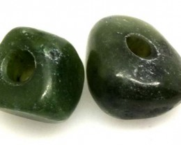 NATURAL SOLID JADE BEAD 12 CTS NP-1654