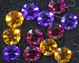 3.1 CTS  4 MM MIXED JEWELERS PARCEL - FUN AND CREATIVE [ST9698]4