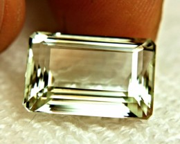 12.88 Carat IF/VVS1 Green Brazilian Beryl - Superb