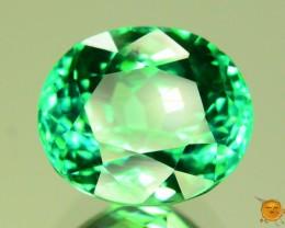 8.090 ct Exotic Green Afghan Hiddenite