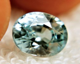 3.40 Carat VVS Light Blue Zircon - Gorgeous