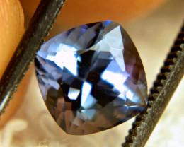 1.83 Carat VVS African Purplish Blue Tanzanite - Lovely