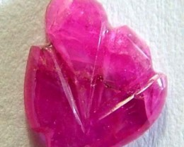 RUBY CARVED POLISHED PIECE 0.95 CTS LG-1214