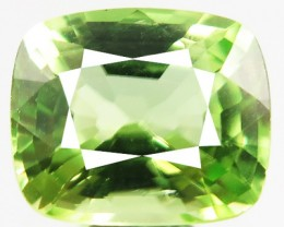 2.81ct Sparkling Luster Bright Lime Green Color Peridot VVS -RI26