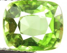 2.49ct Sparkling Luster Bright Lime Green Color Peridot VVS -RI27