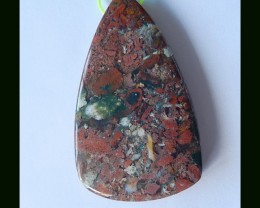 Natural Bi Color Ocean Jasper Bead ,Gemstone Bead ,Jewelry Making (N040)
