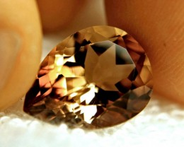 9.65 Carat VVS1 Golden Brown Brazil Topaz