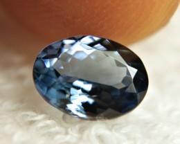 1.23 Carat VVS African Blue Tanzanite