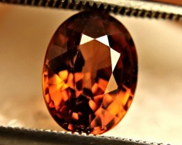 3.38 Carat VVS Orange Zircon - Beautiful
