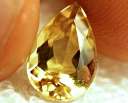 3.68 Carat Golden Yellow VS Beryl - Superb