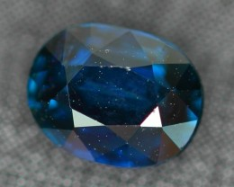 CERTIFIED 1.28Ct Natural UNHEATED Greenish Blue Sapphire