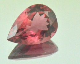 Red Pink Tourmaline drop shape