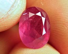 5.28 Carat Fiery VS2 Ruby - Beautiful