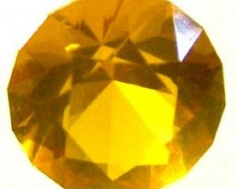 CITRINE FACETED STONE 0.60 CTS LG-1301