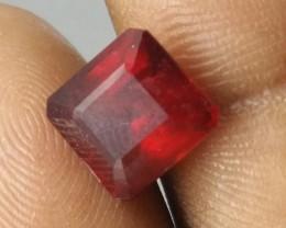 Beautiful Scissor cut 5.29ct Natural Ruby