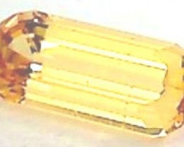 .85ct Bright Golden Yellow Sapphire , Australia VVS PA04