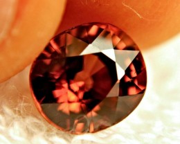 3.90 Carat VVS Tanzanian Orange Zircon - Gorgeous