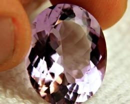 20.21 Carat VVS Purple Brazil Amethyst