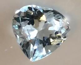 1.10ct Ice Aqua Aquamarine - Top Grade Gem - Glittering stone
