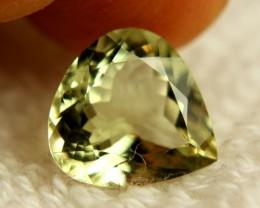 3.67 Carat VVS Green/Yellow Brazil Beryl