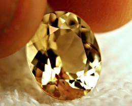 4.74 Carat Brazil VVS Golden Beryl - Superb
