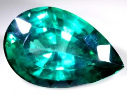GREENISH BLUE TOPAZ 44.5  CTS  CG-1800