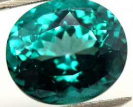 30.80  CTS GREENISH  BLUE TOPAZ CG-1796