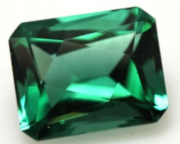 7.50  CTS  GREEN QUARTZ FACETED  CG-1779