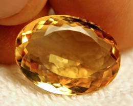 19.2 Carat VVS South America Citrine