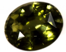 GREEN TOURMALINE FACETED STONE 1.75  CTS CG-1787 GC