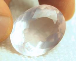 40.24 Carat SI Rose Quartz - Very Cool