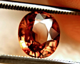 3.70 Carat VVS Orange Southeast Asian Zircon