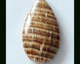 40.75 Cts Natural Shell Teardrop Cabochon