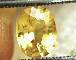 1.69 Carat VS/SI Golden Yellow Sapphire - Gorgeous