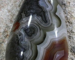 22.85 CTS TOP LAGUNA LACE AGATE FROM MEXICO [ST9734]