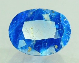 Rare 0.685 ct Natural Electric Blue Hauyne L.8 Collector's Gem