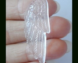 Crystal Wings Carving,40X17X4 MM