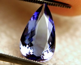3.54 Carat VVS Purple / Blue African Tanzanite - Gorgeous