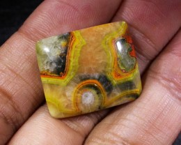 19.7 CTS A GRADE NATURAL  BUMBLE  BEE JASPER [ST9770]