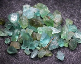 53.05 CTS LARGE ROUGH  APATITE PARCEL [F6060]