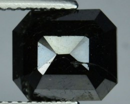 NATURAL BLACK DIAMOND-2.97 CTS, 1PC, NR