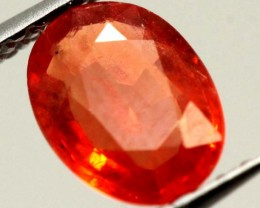 ORANGY RED SAPPHIRE0.90  CTS    CG- 1861  GC