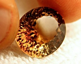 15.20 Carat VVS Golden Brown Brazil Topaz - Gorgeous