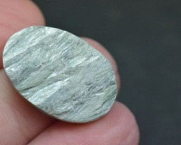 oval serapahinite cabochon matte unpolished