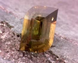 2.39ct Precision Cut Idocrase Vesuvianite from Tanzania